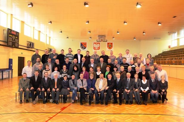 Pracownicy ZST-E CKU, rok 2013.
